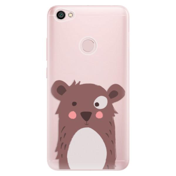 Odolné silikonové pouzdro iSaprio - Brown Bear - Xiaomi Redmi Note 5A / 5A Prime