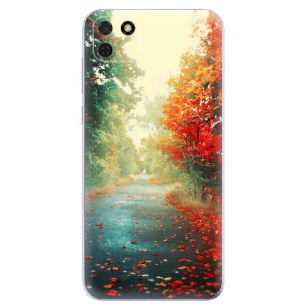 Odolné silikonové pouzdro iSaprio - Autumn 03 - Huawei Y5p