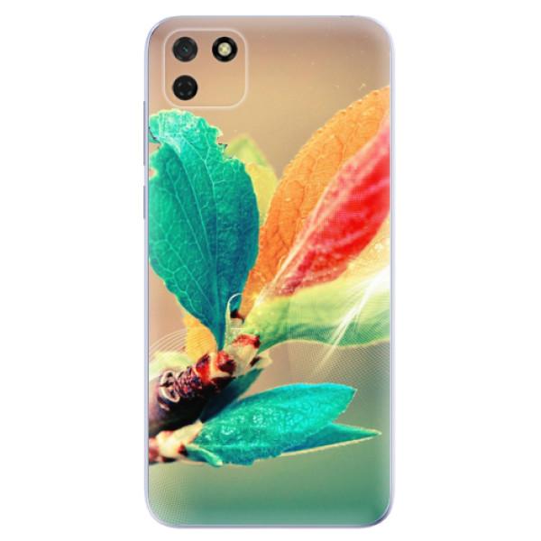 Odolné silikonové pouzdro iSaprio - Autumn 02 - Huawei Y5p