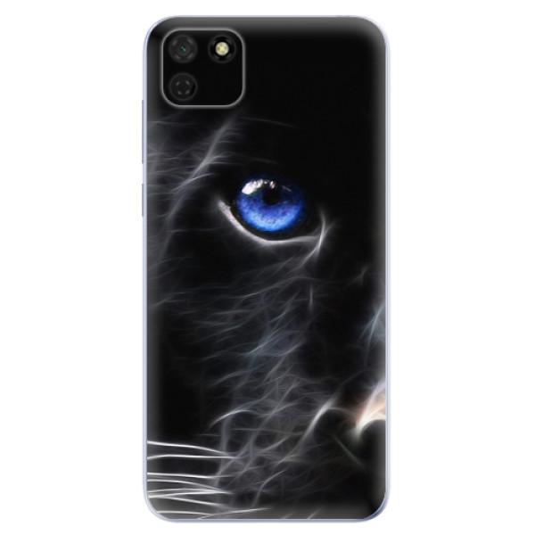 Odolné silikonové pouzdro iSaprio - Black Puma - Huawei Y5p