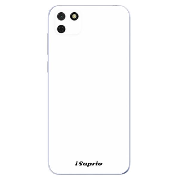 Odolné silikonové pouzdro iSaprio - 4Pure - bílý - Huawei Y5p