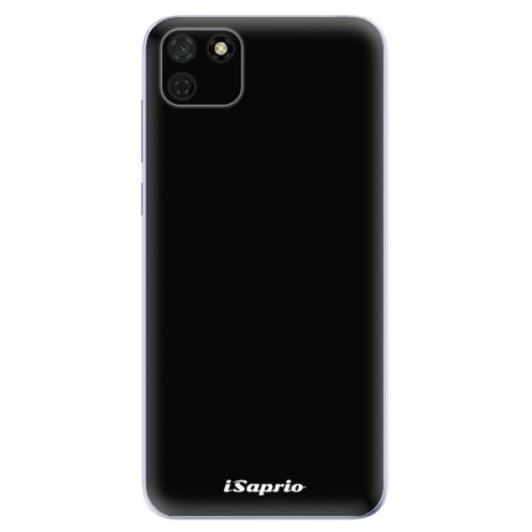 Odolné silikonové pouzdro iSaprio - 4Pure - černý - Huawei Y5p