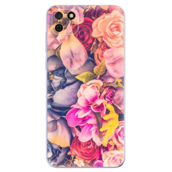 Odolné silikonové pouzdro iSaprio - Beauty Flowers - Huawei Y5p