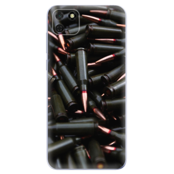 Odolné silikonové pouzdro iSaprio - Black Bullet - Huawei Y5p