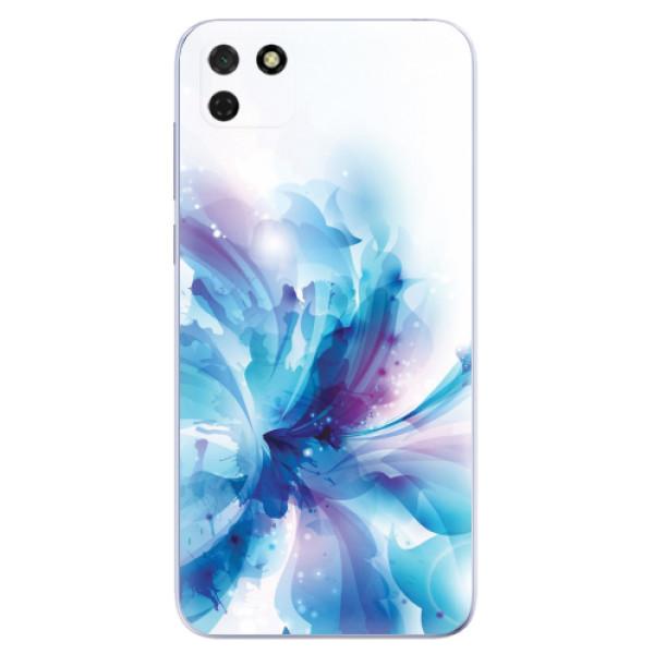 Odolné silikonové pouzdro iSaprio - Abstract Flower - Huawei Y5p