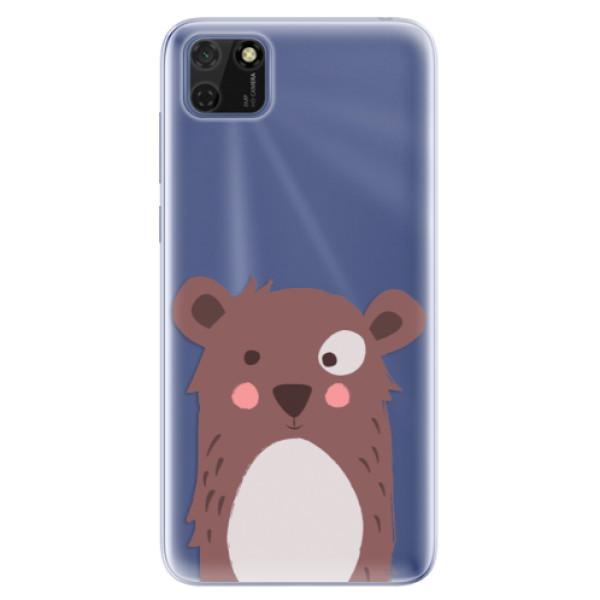 Odolné silikonové pouzdro iSaprio - Brown Bear - Huawei Y5p