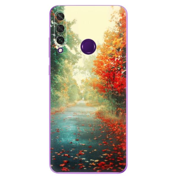 Odolné silikonové pouzdro iSaprio - Autumn 03 - Huawei Y6p