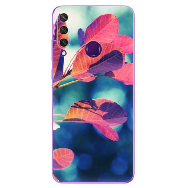 Odolné silikonové pouzdro iSaprio - Autumn 01 - Huawei Y6p
