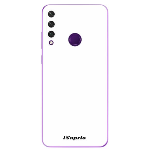 Odolné silikonové pouzdro iSaprio - 4Pure - bílý - Huawei Y6p
