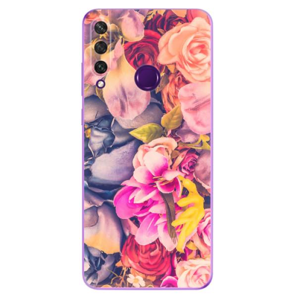 Odolné silikonové pouzdro iSaprio - Beauty Flowers - Huawei Y6p