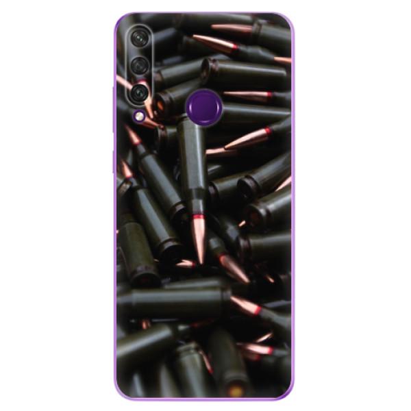 Odolné silikonové pouzdro iSaprio - Black Bullet - Huawei Y6p