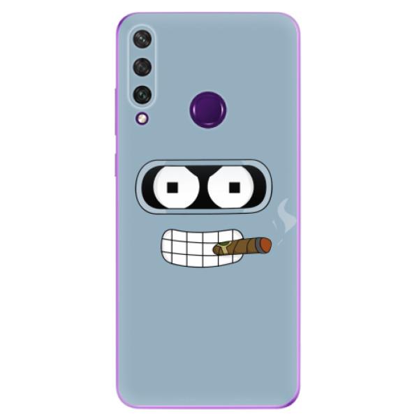 Odolné silikonové pouzdro iSaprio - Bender - Huawei Y6p