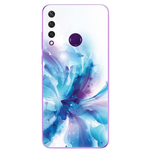 Odolné silikonové pouzdro iSaprio - Abstract Flower - Huawei Y6p