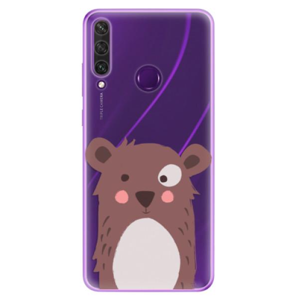 Odolné silikonové pouzdro iSaprio - Brown Bear - Huawei Y6p