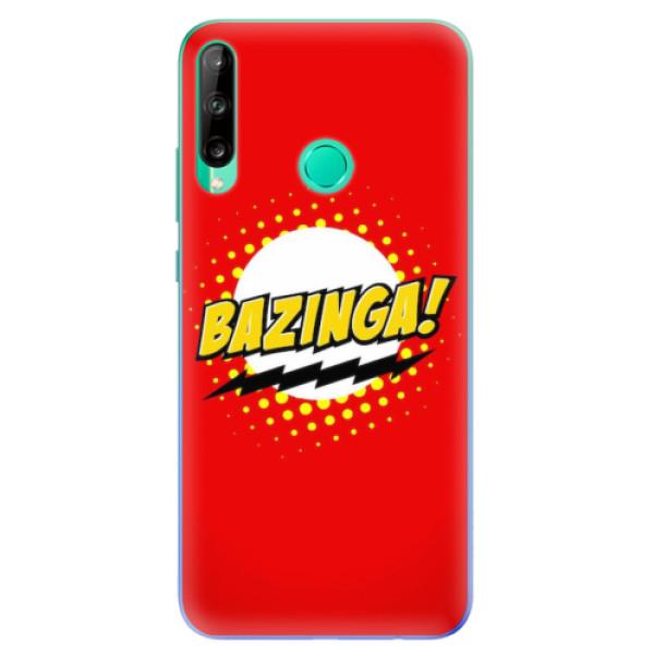 Odolné silikonové pouzdro iSaprio - Bazinga 01 - Huawei P40 Lite E