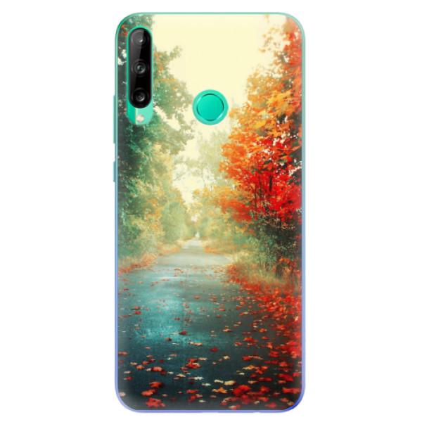 Odolné silikonové pouzdro iSaprio - Autumn 03 - Huawei P40 Lite E