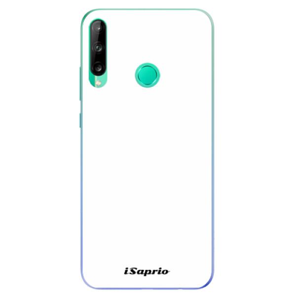 Odolné silikonové pouzdro iSaprio - 4Pure - bílý - Huawei P40 Lite E