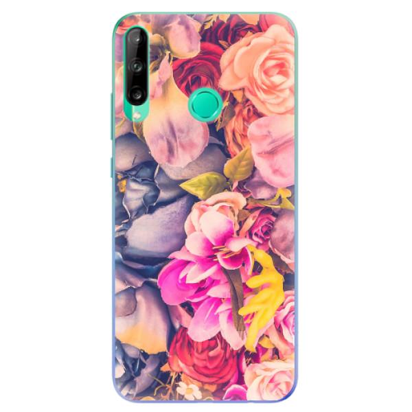 Odolné silikonové pouzdro iSaprio - Beauty Flowers - Huawei P40 Lite E