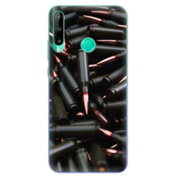 Odolné silikonové pouzdro iSaprio - Black Bullet - Huawei P40 Lite E