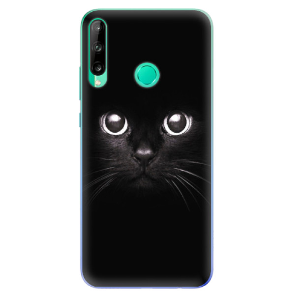 Odolné silikonové pouzdro iSaprio - Black Cat - Huawei P40 Lite E