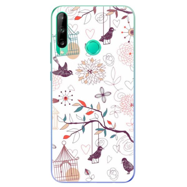 Odolné silikonové pouzdro iSaprio - Birds - Huawei P40 Lite E