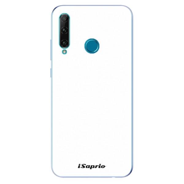 Odolné silikonové pouzdro iSaprio - 4Pure - bílý - Honor 20e