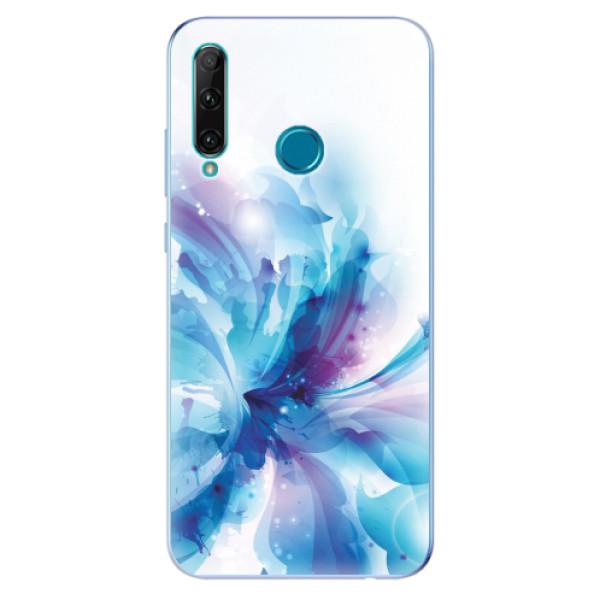 Odolné silikonové pouzdro iSaprio - Abstract Flower - Honor 20e