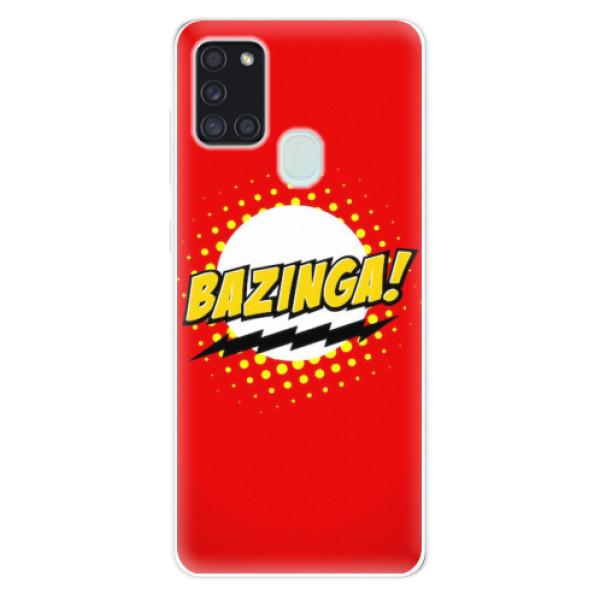 Odolné silikonové pouzdro iSaprio - Bazinga 01 - Samsung Galaxy A21s