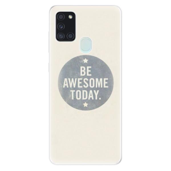 Odolné silikonové pouzdro iSaprio - Awesome 02 - Samsung Galaxy A21s