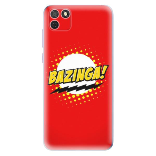 Odolné silikonové pouzdro iSaprio - Bazinga 01 - Honor 9S