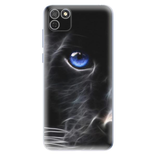 Odolné silikonové pouzdro iSaprio - Black Puma - Honor 9S
