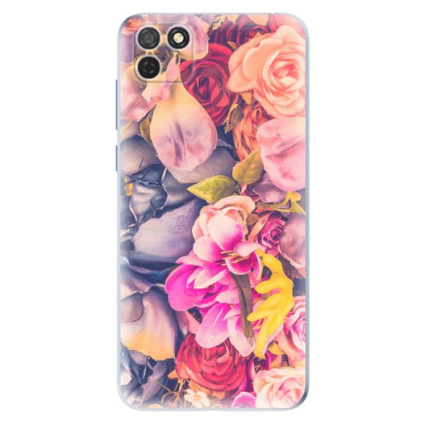 Odolné silikonové pouzdro iSaprio - Beauty Flowers - Honor 9S