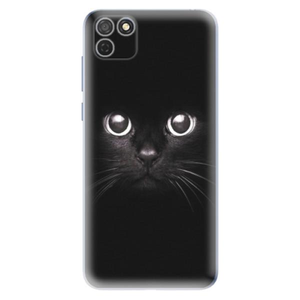 Odolné silikonové pouzdro iSaprio - Black Cat - Honor 9S