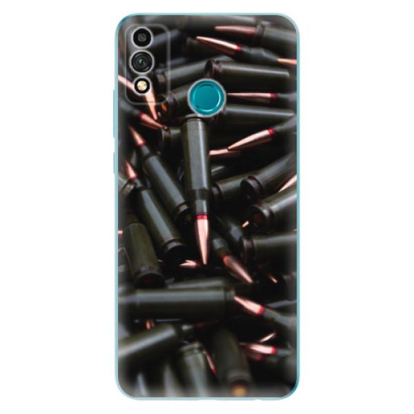 Odolné silikonové pouzdro iSaprio - Black Bullet - Honor 9X Lite