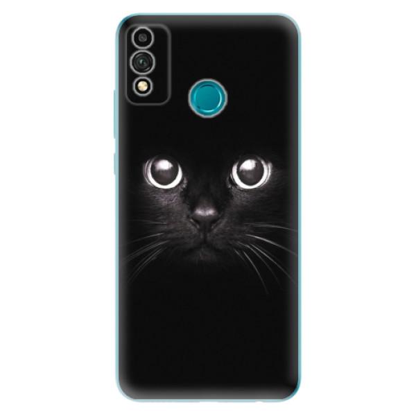 Odolné silikonové pouzdro iSaprio - Black Cat - Honor 9X Lite