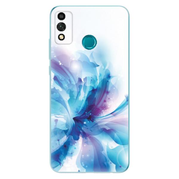 Odolné silikonové pouzdro iSaprio - Abstract Flower - Honor 9X Lite