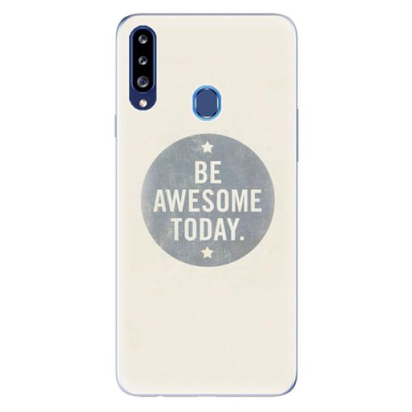 Odolné silikonové pouzdro iSaprio - Awesome 02 - Samsung Galaxy A20s