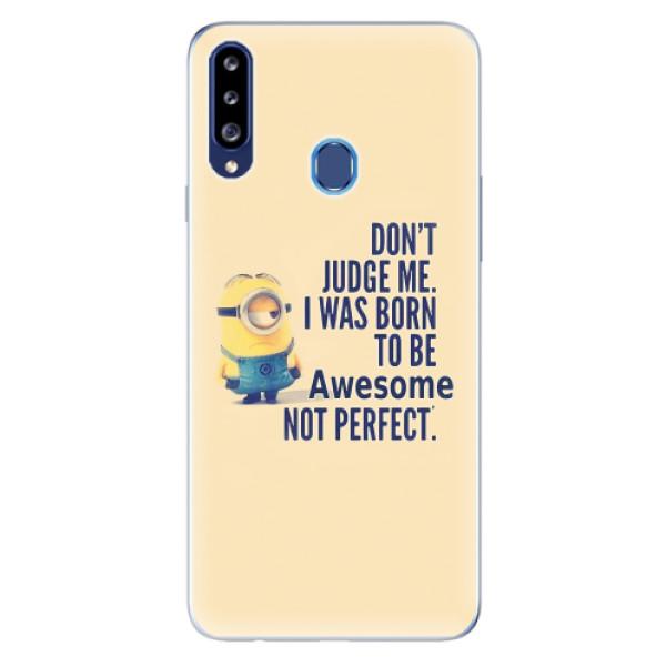 Odolné silikonové pouzdro iSaprio - Be Awesome - Samsung Galaxy A20s