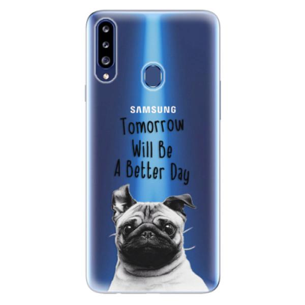 Odolné silikonové pouzdro iSaprio - Better Day 01 - Samsung Galaxy A20s