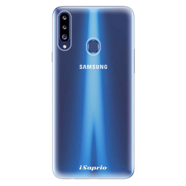 Odolné silikonové pouzdro iSaprio - 4Pure - mléčný bez potisku - Samsung Galaxy A20s