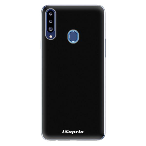 Odolné silikonové pouzdro iSaprio - 4Pure - černý - Samsung Galaxy A20s