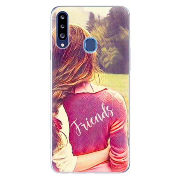 Odolné silikonové pouzdro iSaprio - BF Friends - Samsung Galaxy A20s
