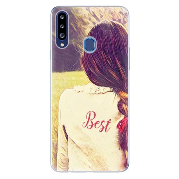 Odolné silikonové pouzdro iSaprio - BF Best - Samsung Galaxy A20s