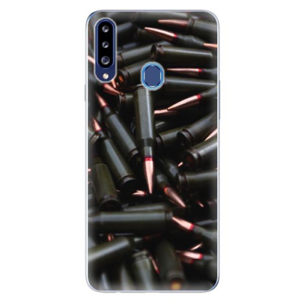 Odolné silikonové pouzdro iSaprio - Black Bullet - Samsung Galaxy A20s