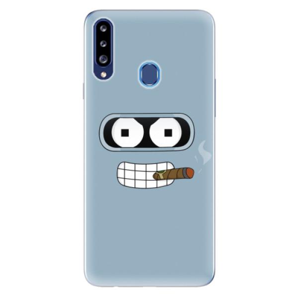 Odolné silikonové pouzdro iSaprio - Bender - Samsung Galaxy A20s