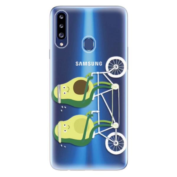 Odolné silikonové pouzdro iSaprio - Avocado - Samsung Galaxy A20s