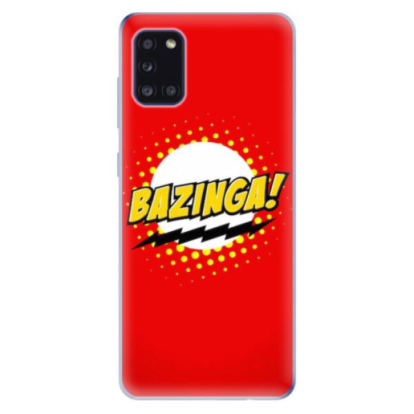 Odolné silikonové pouzdro iSaprio - Bazinga 01 - Samsung Galaxy A31