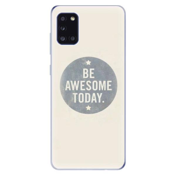 Odolné silikonové pouzdro iSaprio - Awesome 02 - Samsung Galaxy A31