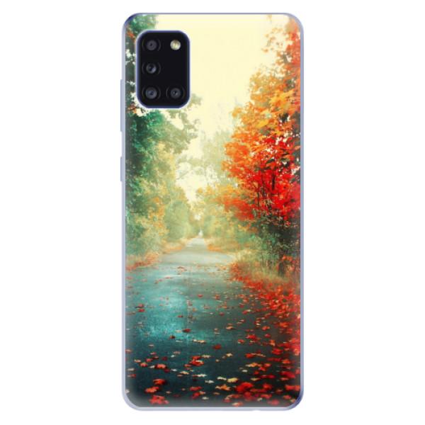 Odolné silikonové pouzdro iSaprio - Autumn 03 - Samsung Galaxy A31