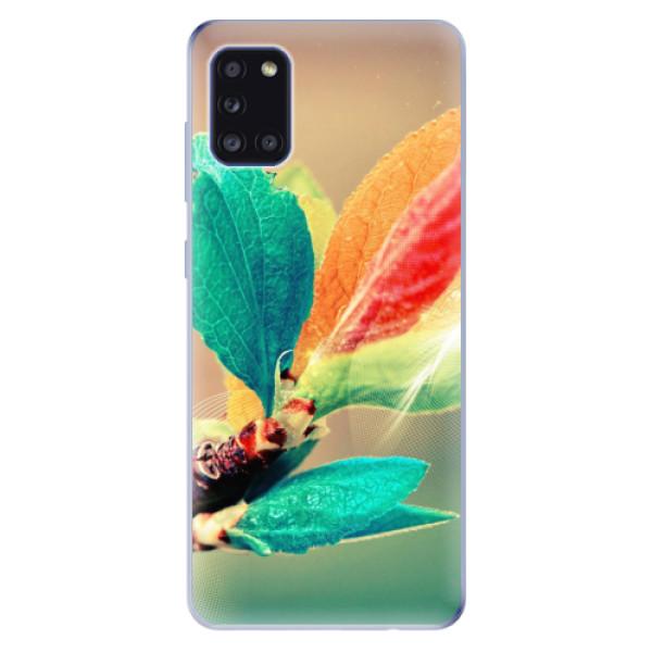 Odolné silikonové pouzdro iSaprio - Autumn 02 - Samsung Galaxy A31